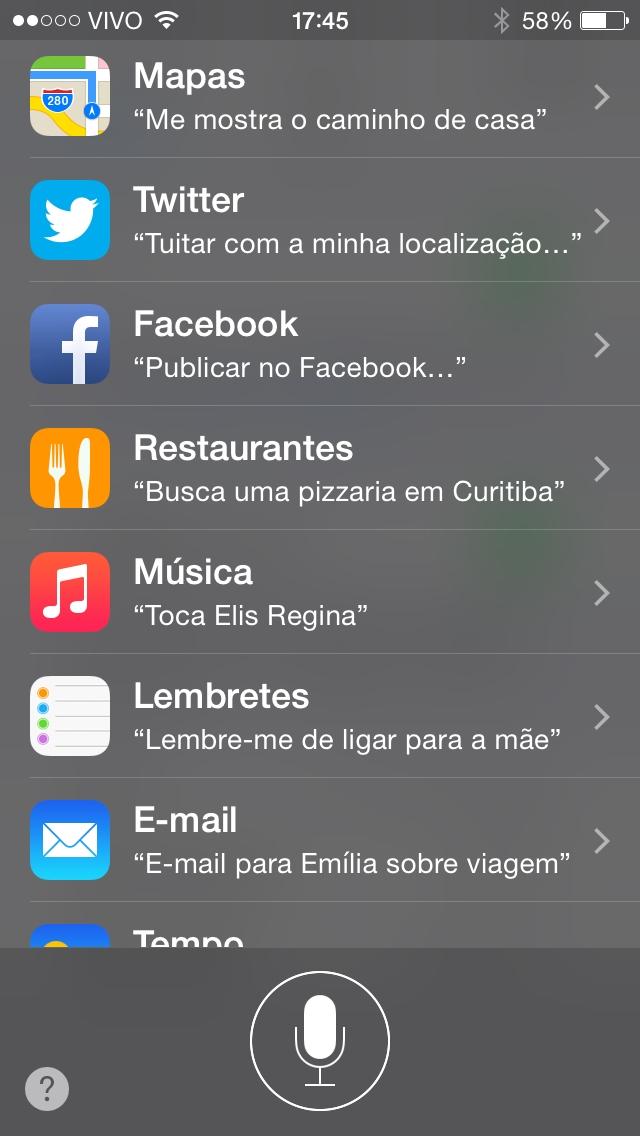 Finalmente! Siri aprende a falar português brasileiro no novo beta do iOS 8