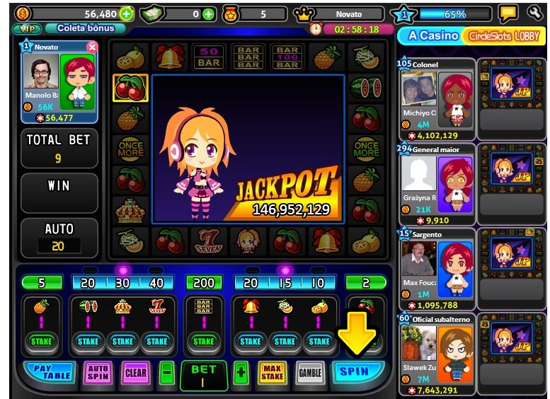 What are the games like at Doubledown Casino Facebook