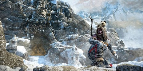 Imagem de Valley of the Yetis, DLC de Far Cry 4, traz Ajay Ghale a trama sobrenatural no site Baixaki Jogos