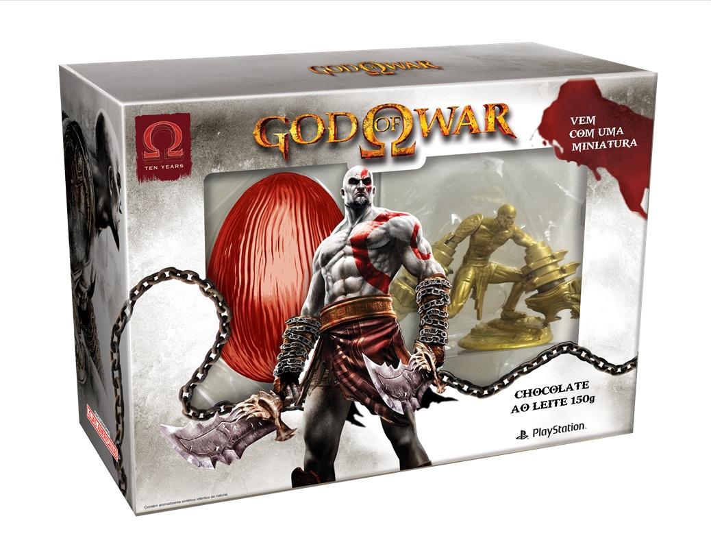 Páscoa gamer: God of War é parte de aposta em ovos de chocolate temáticos