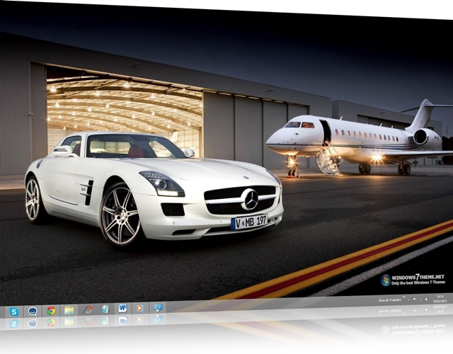 Cars & Aircraft Windows 7 Theme 19151840949822