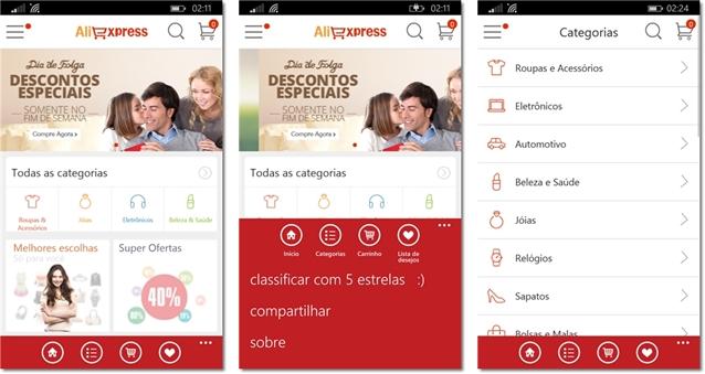 AliExpress Mobile - Imagem 1 do software