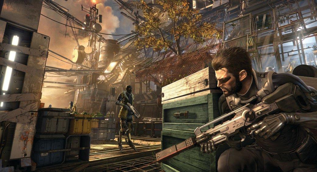 Ih, vazou! Imagens mostram Deus Ex: Mankind Dividided para PS4, XOne e PC