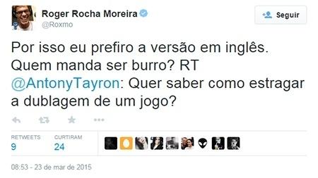 Twitter Roger Rocha ZGB Start