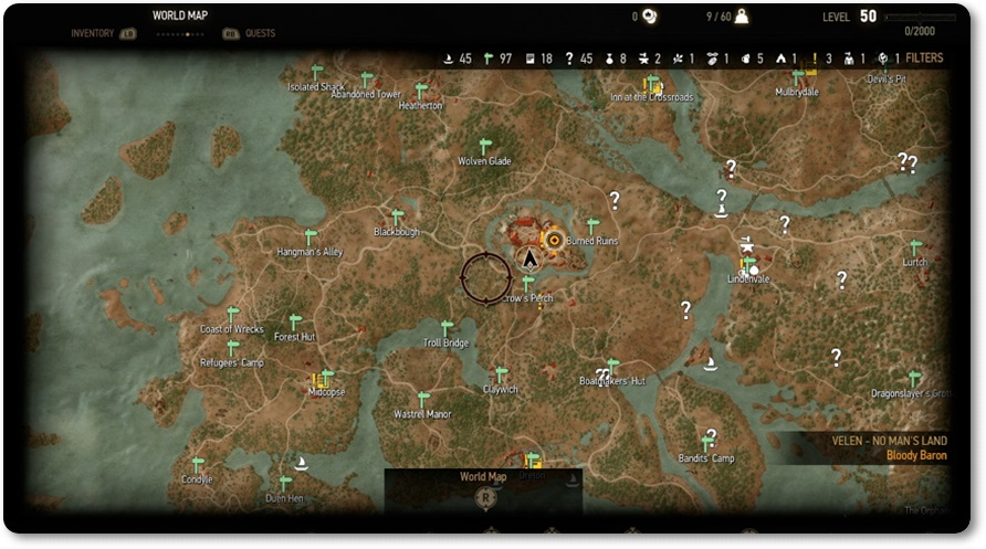 The Witcher 3 Mapa.Voce Tem Ideia Do Tamanho Do Mapa De The Witcher 3 Wild