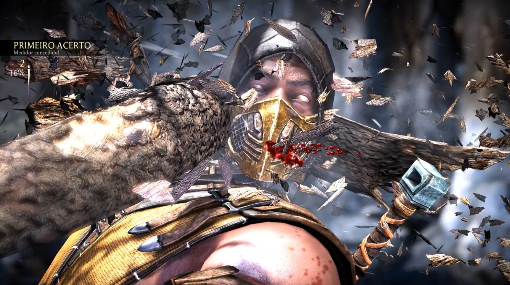 Mortal Kombat X ZGB Start