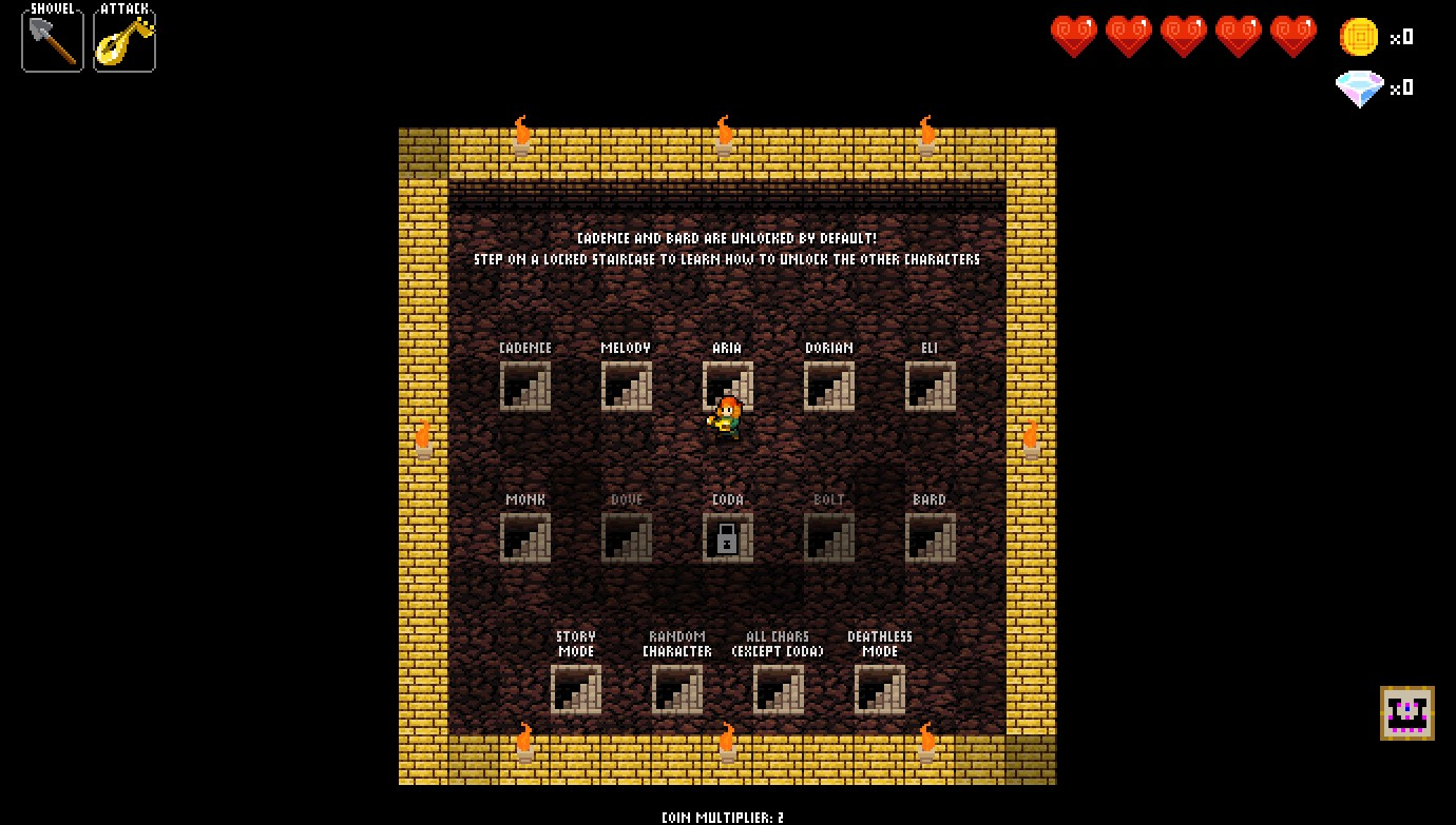 Crypt of the Necrodancer Análise