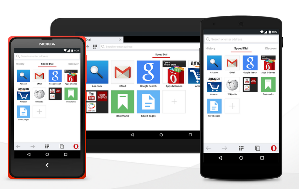 Opera para Android