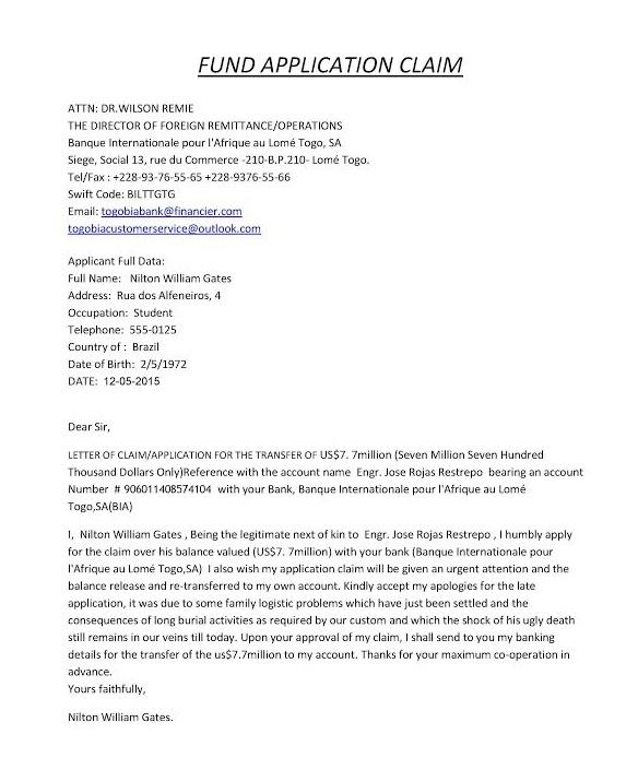 Recebemos o clássico spam do príncipe nigeriano e fomos até o fim do golpe