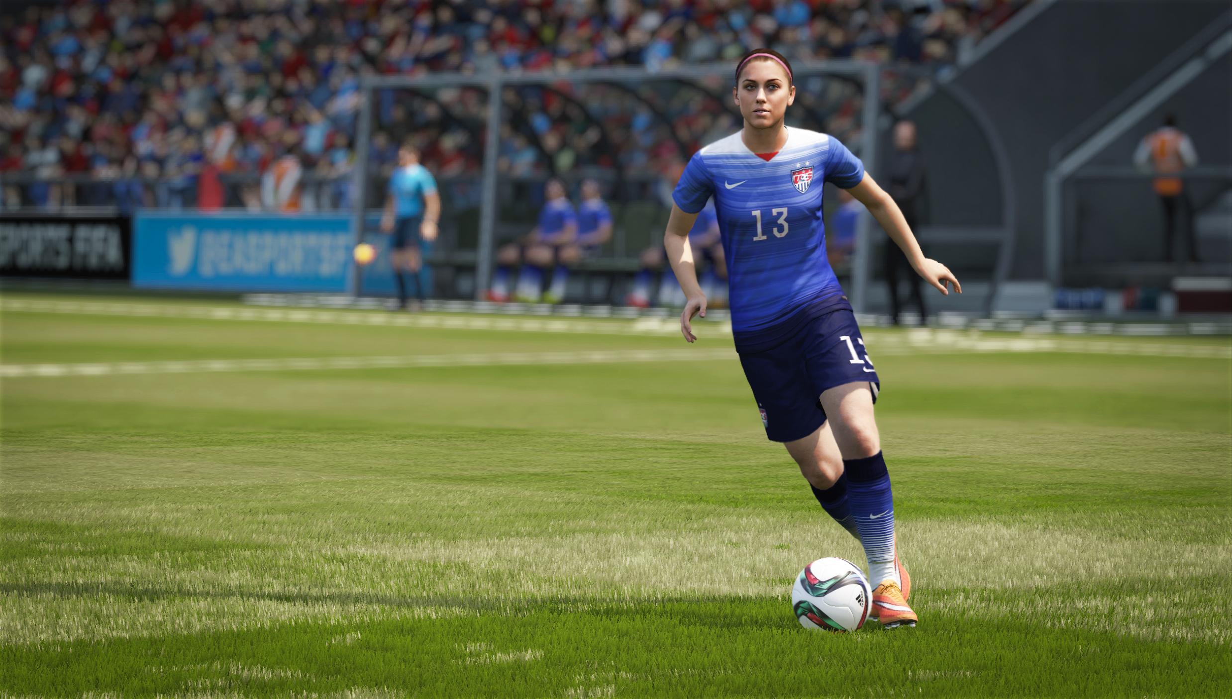 Times femininos são a principal novidade de FIFA 16 [vídeo]