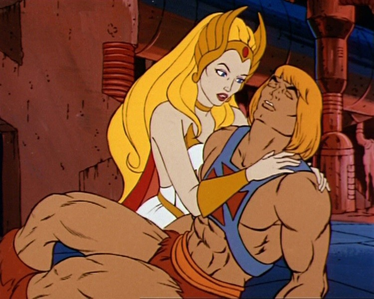 Resultado de imagem para he-man e she-ra
