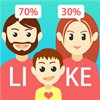 Logo Like Parent: Compare Your Face With Friends ícone