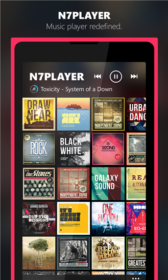 n7player Music Player - Imagem 3 do software