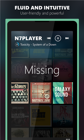 n7player Music Player - Imagem 4 do software