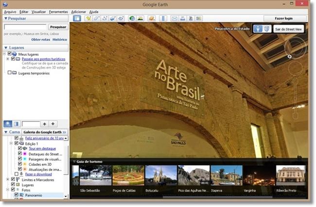 Google Earth - Imagem 3 do software