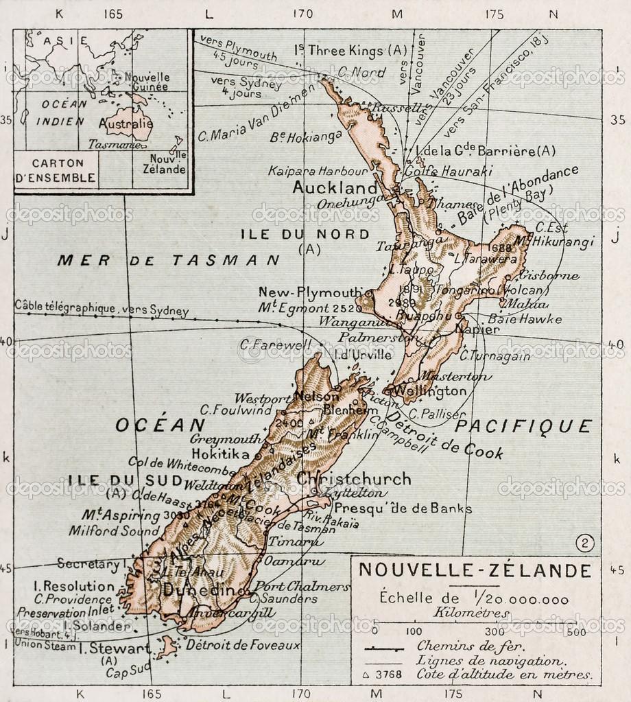Nouvelle Zélande - A antiga Nova Zelândia