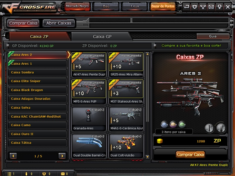 CrossFire - Imagem 4 do software