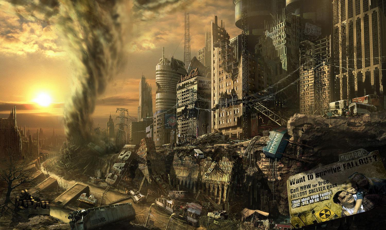 Escolha a forma como o mundo deve ser destruído