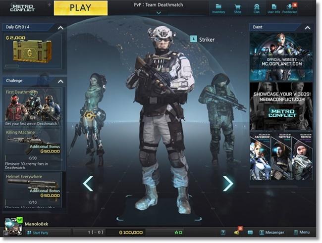 Metro Conflict - Imagem 1 do software