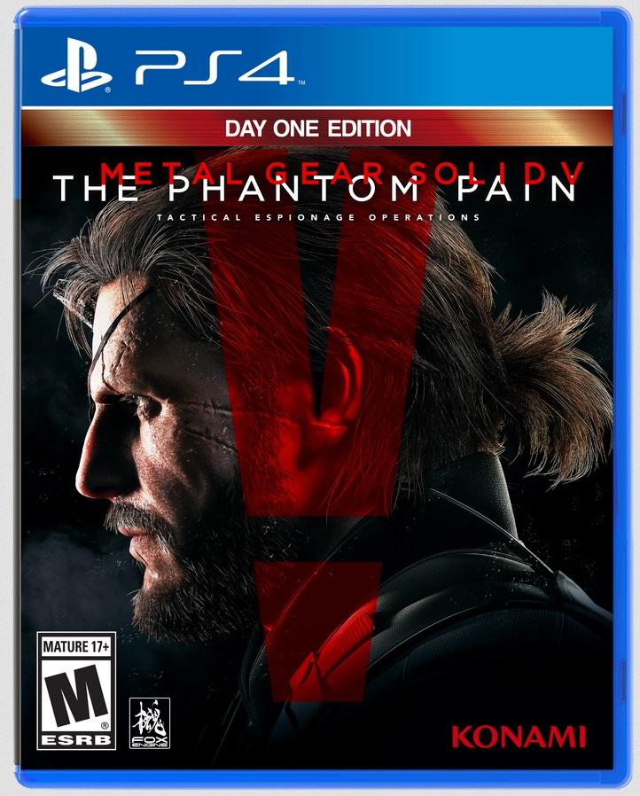 Treta sem fim: Kojima foi tirado até da capa final de Metal Gear Solid 5 14100008444813