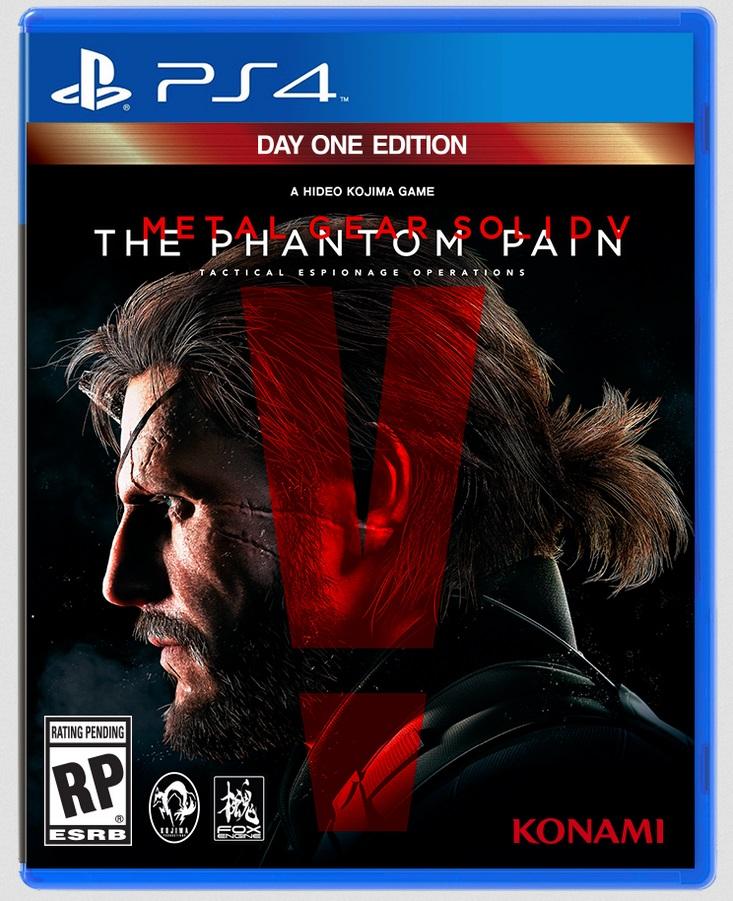 Treta sem fim: Kojima foi tirado até da capa final de Metal Gear Solid 5 14100009052814