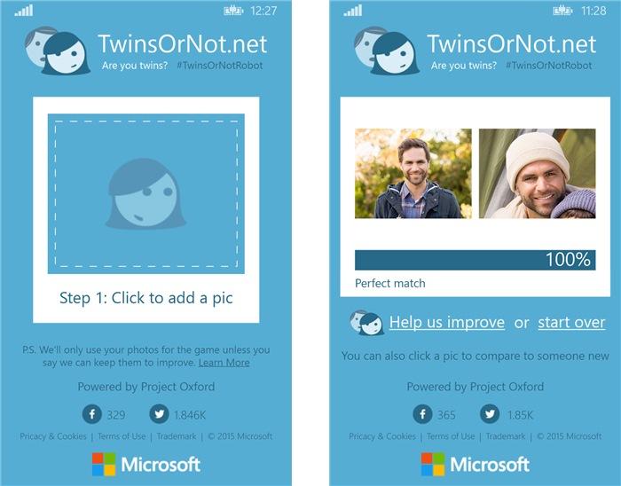 TwinsOrNot - Imagem 1 do software