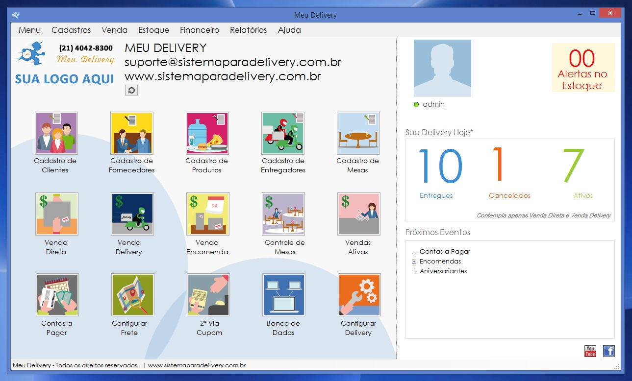 Meu Delivery - Imagem 1 do software
