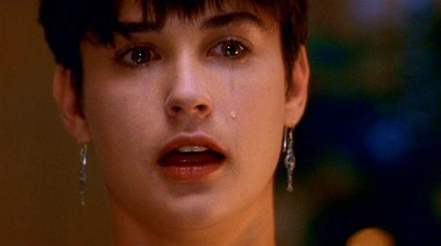 """Salário de Demi Moore saltou para US$ 12,5 milhões por filme depois do sucesso de """"Ghost""""."""