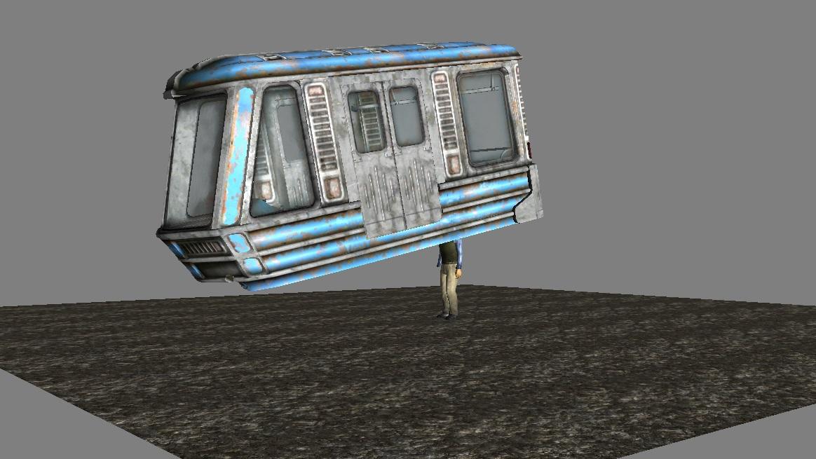 Jogadores descobrem que trem em DLC de Fallout 3 era gambiarra nível master