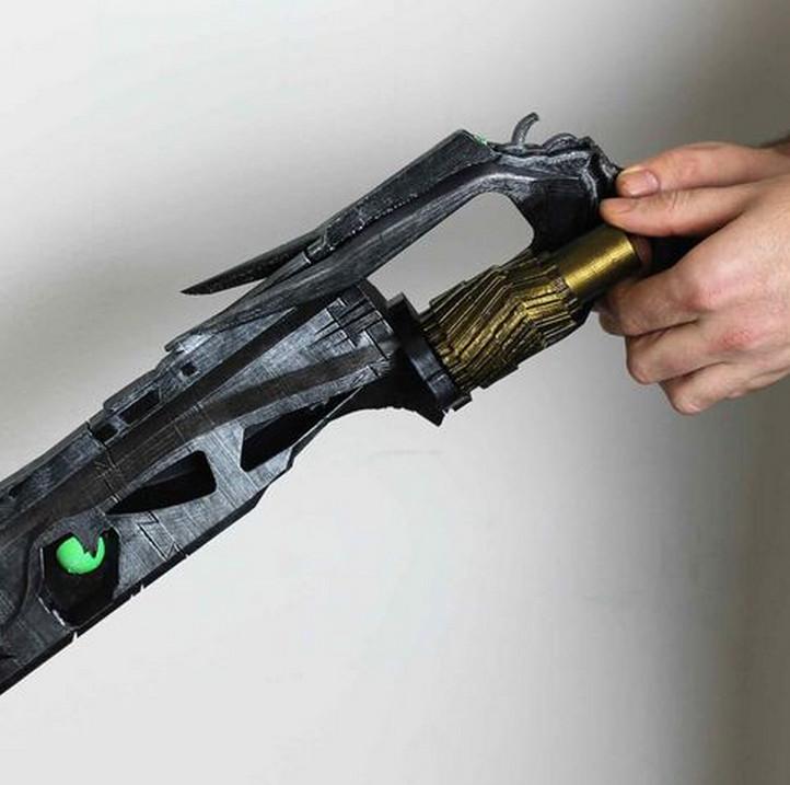 Chega de contrato exótico: vamos imprimir as armas de Destiny