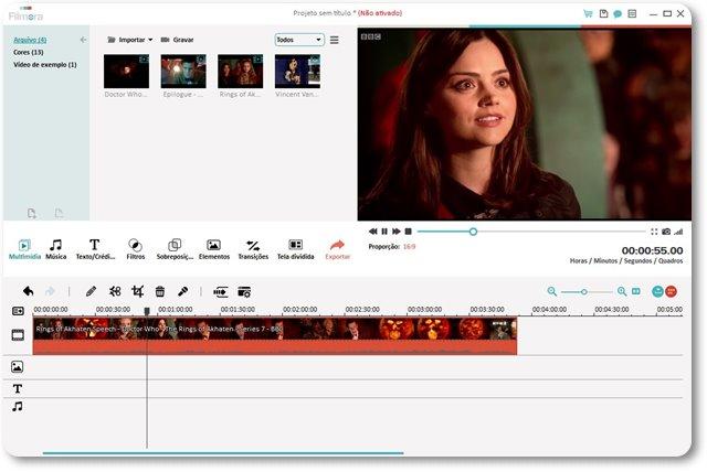 Wondershare Filmora - Imagem 1 do software