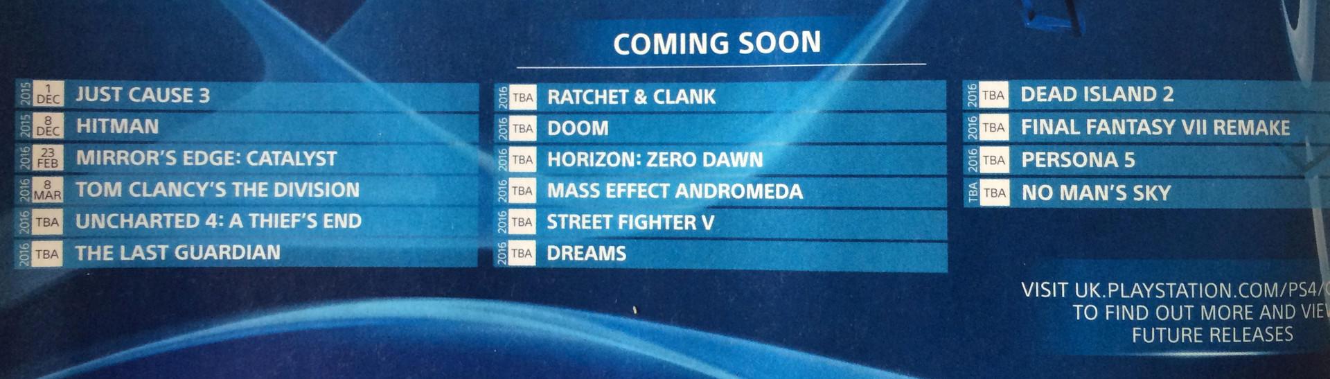 UAU! Final Fantasy VII Remake e outros títulos de peso devem chegar em 2016