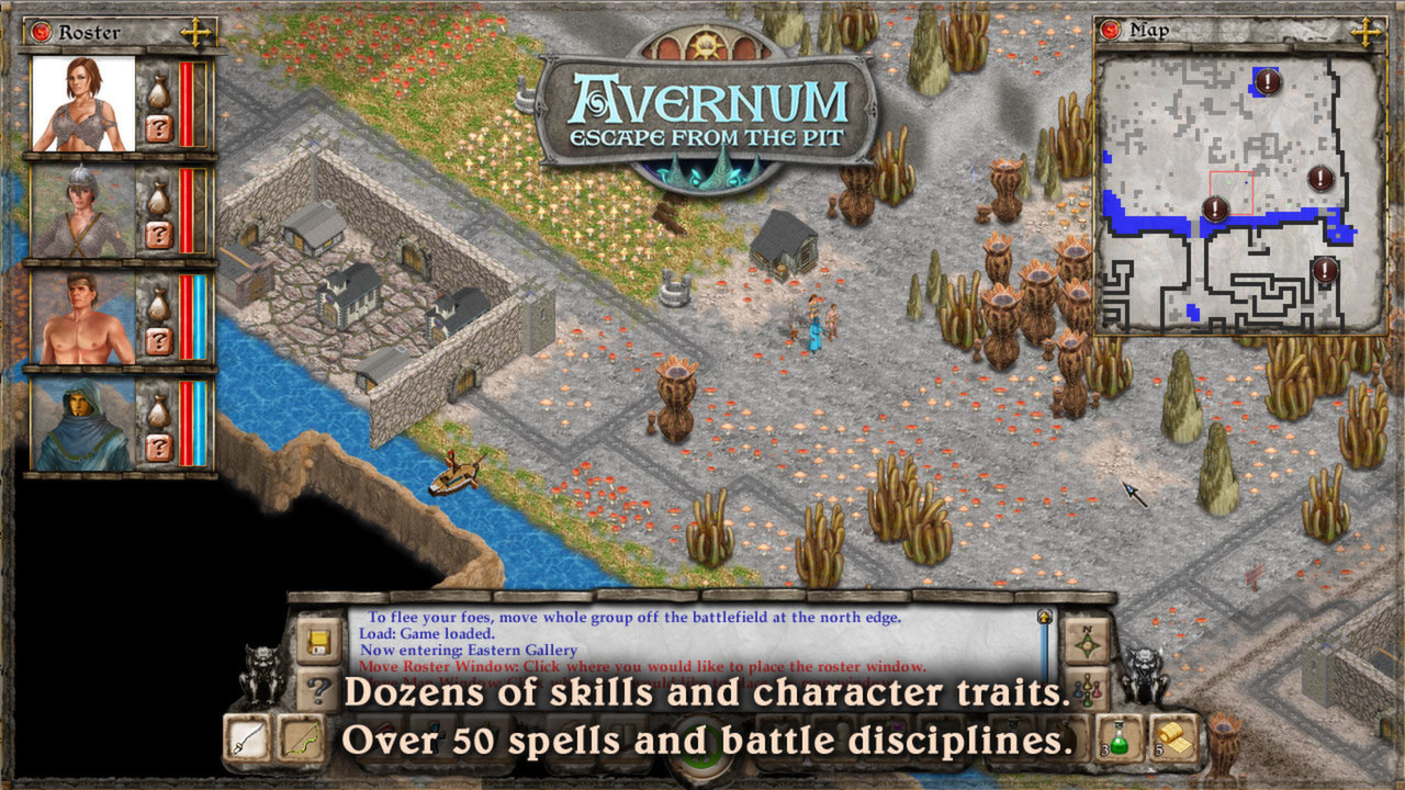 Avernum: Escape From the Pit review | 336GameReviews