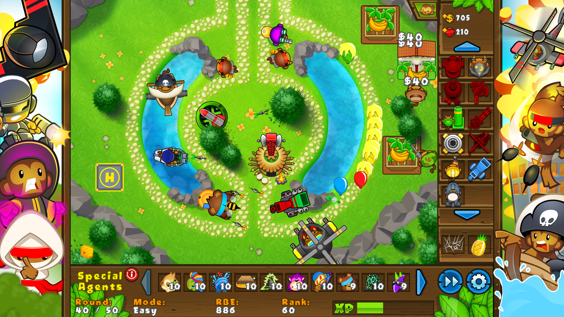 Bloons Defense 5