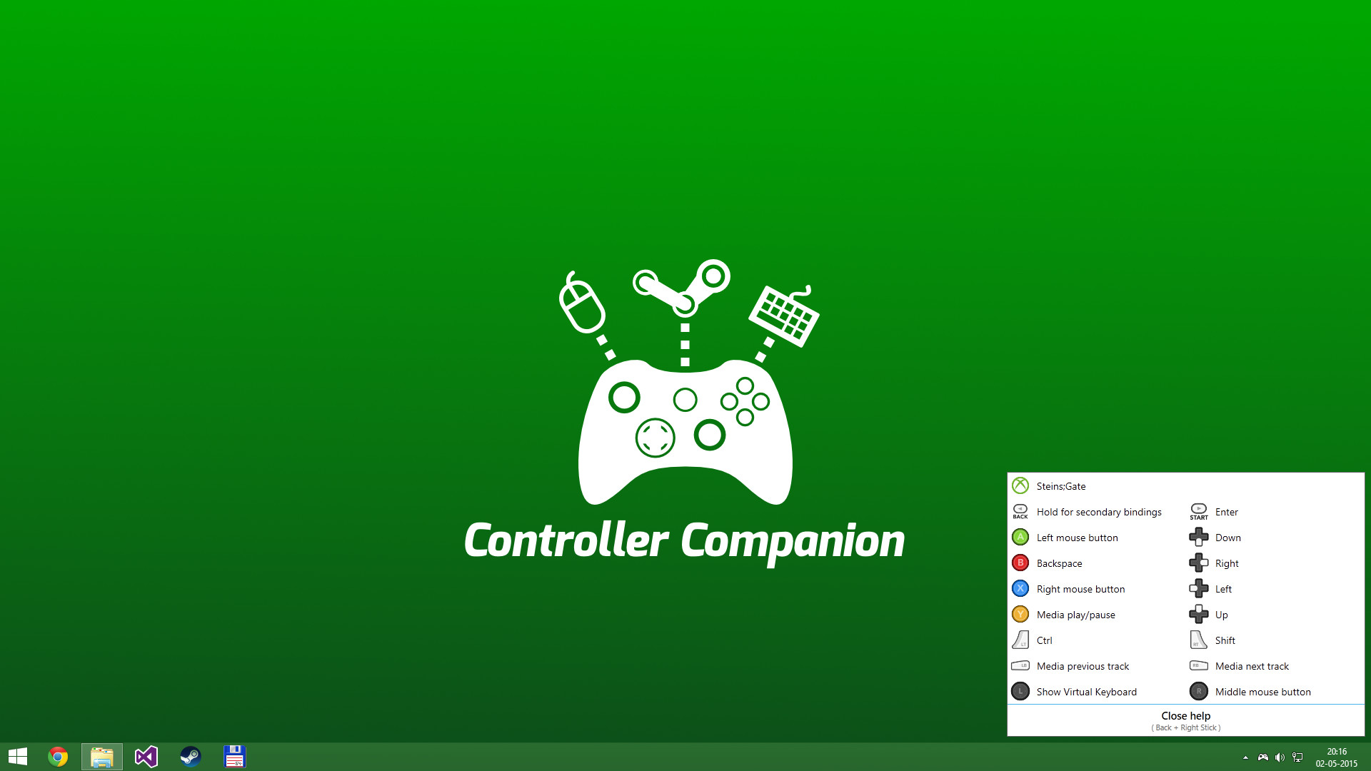 how to download steam controller configs
