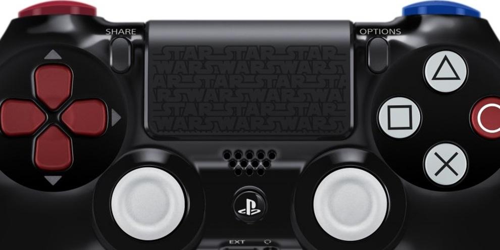 DualShock 4 do Darth Vader não será vendido separadamente, diz Sony