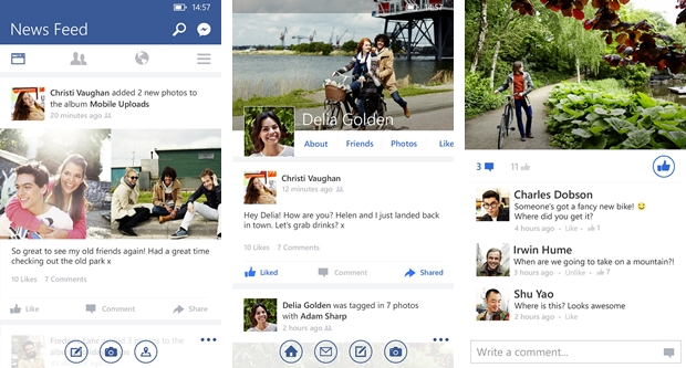 Facebook - Imagem 1 do software