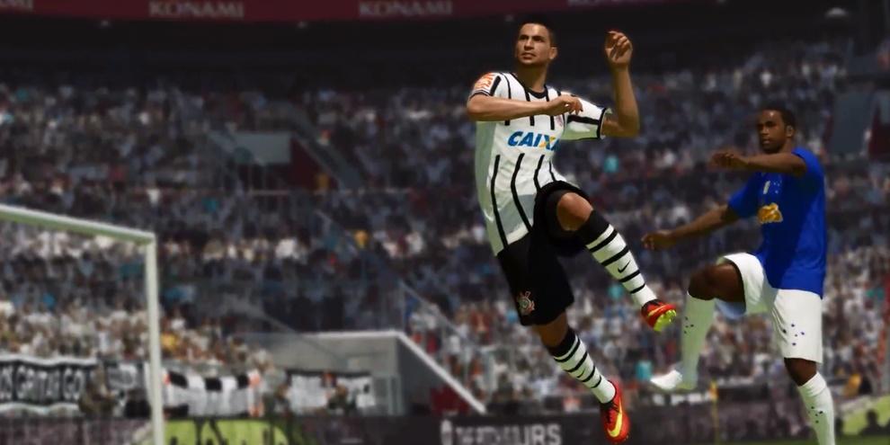 Clubes das séries A e B do Campeonato Brasileiro estão em PES 2016