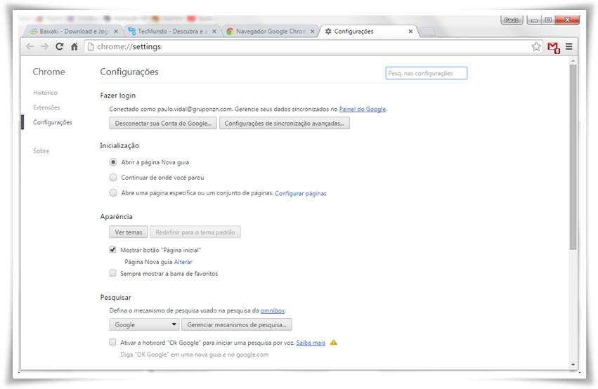 Google Chrome - Imagem 2 do software