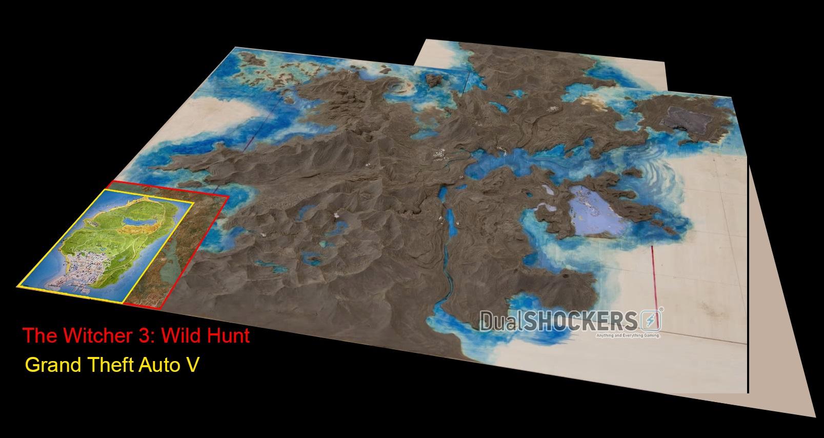 Absurdo! Mapa de Final Fantasy XV é colossal perto dos de GTA V e Witcher 3