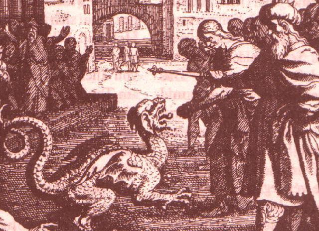 Trechos bíblicos que fazem referência ao dragão babilônico morto por Daniel são considerados apócrifos