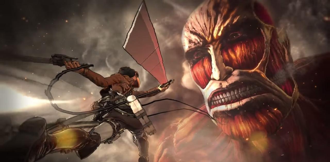 Novo trailer de Attack on Titan promete muito sangue e desmembramentos