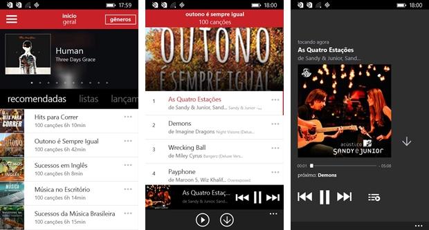 Claro Música - Imagem 1 do software