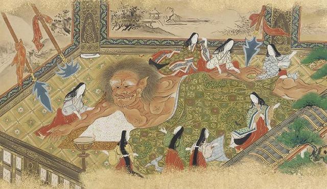 Shuten Doji era um ogro que devorava as mulheres