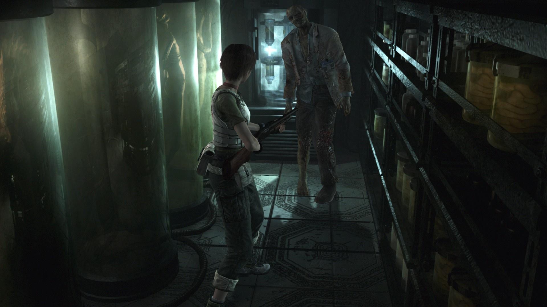 Criaturas Estranhas caras DAO Como EM Vídeo de Resident Evil 0 HD Pará Uma TGS