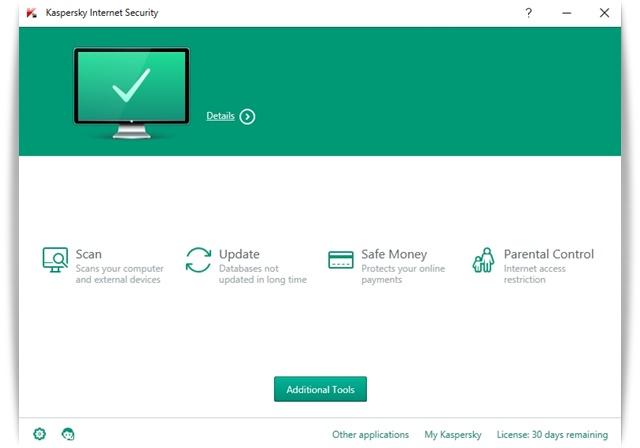 Kaspersky Internet Security - Imagem 1 do software