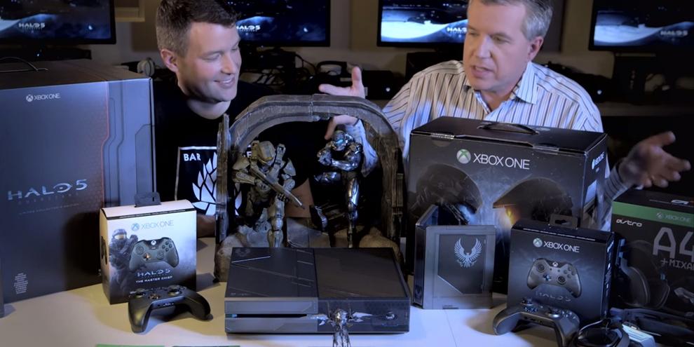 Confira o unboxing da edição especial de Halo 5: Guardians do XOne