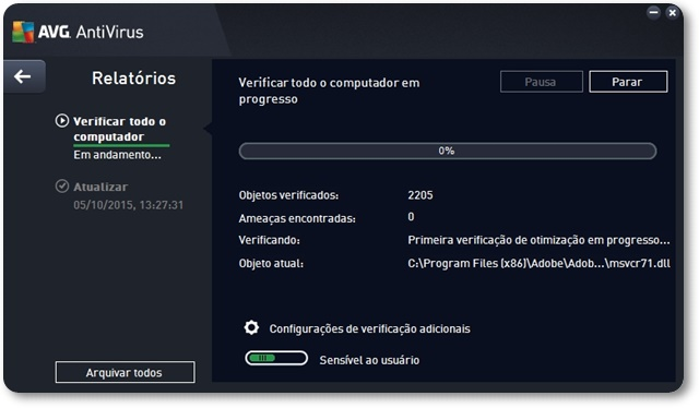 AVG AntiVirus - Imagem 2 do software