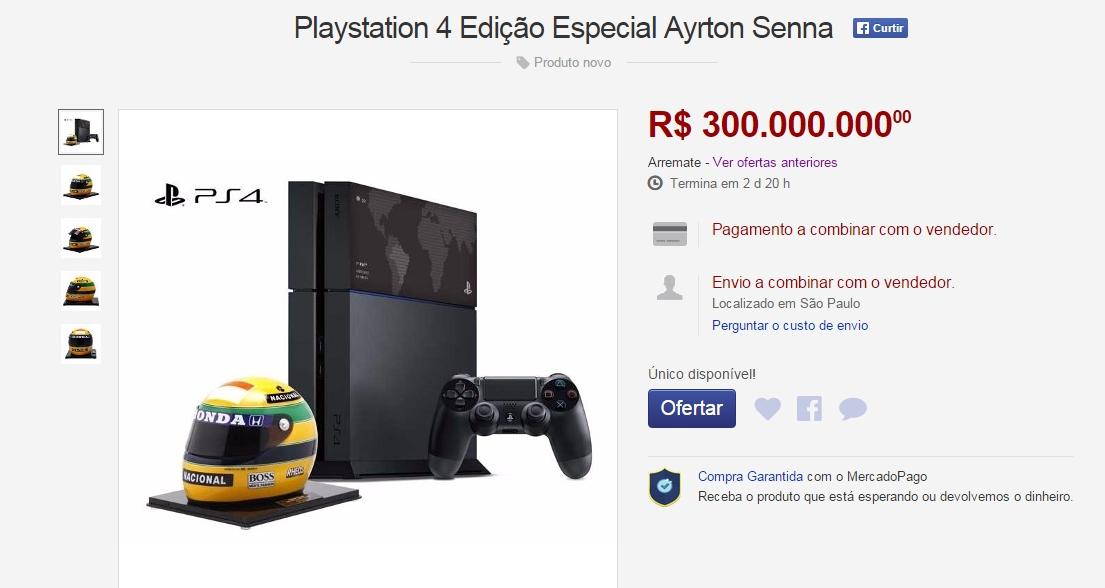 HUE BR: lance Mais alto do Primeiro PS4 Feito no Brasil de e de de R $ 5 bilhões