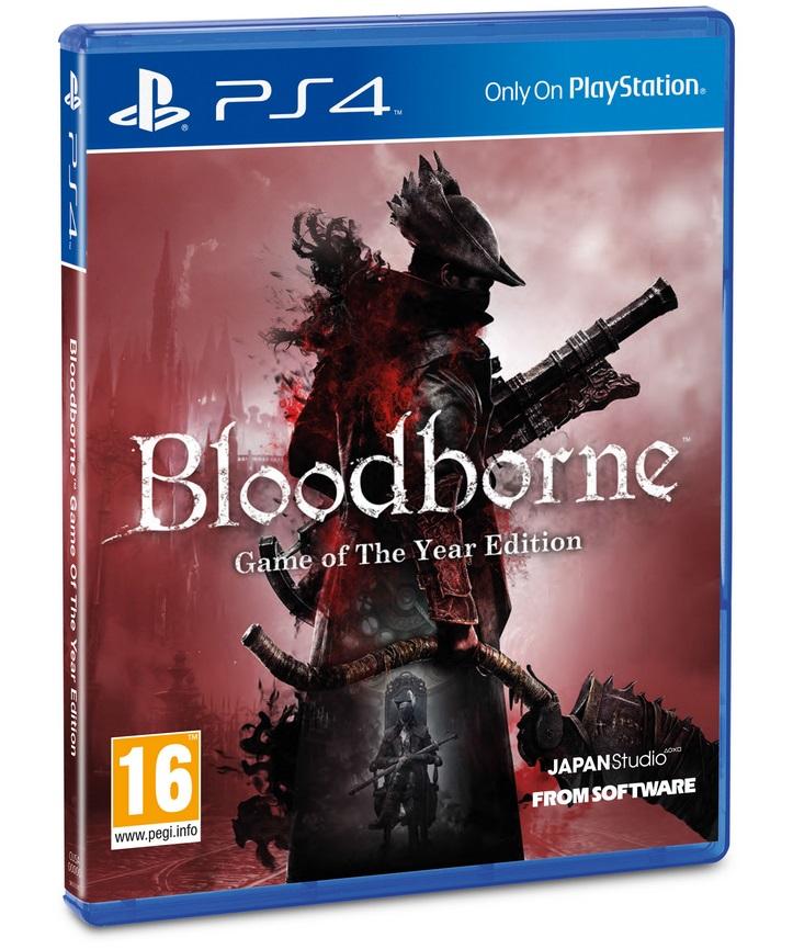 Bloodborne Ganha GOTY Edição NÃO incluso com DLC PS4; Veja a capa